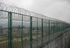 监狱刺绳护栏